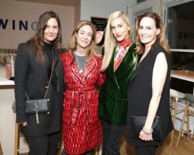 Nicole Fritton, Aurelie Bidermann, Joanna Hillman, Alexandra Parnass