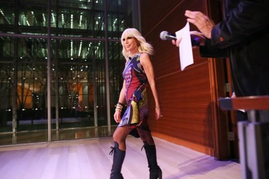 Donatella Versace Touts Her New Book