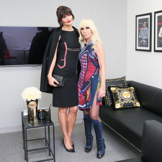 Helena Christensen, Donatella Versace