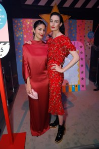 LONDON, ENGLAND - FEBRUARY 21: Caroline Issa and Erin O'Connor (R) attends LondonÕs Fabulous Fund Fair hosted by Natalia Vodianova and Karlie Kloss in support of The Naked Heart Foundation on February 21, 2017 at The Roundhouse in London, England. (Photo by David M. Benett/Dave Benett/ Getty Images for The Naked Heart Foundation) *** Local Caption *** Erin O'Connor; Caroline Issa