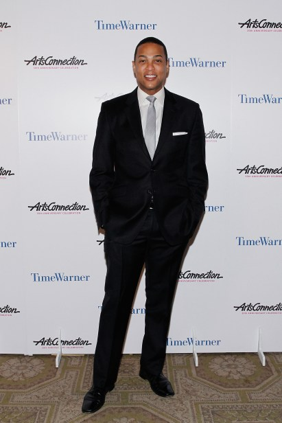 NEW YORK, NY - APRIL 24: Journalist/news anchor Don Lemon attends the ArtsConnection 35th Anniversary Spring Benefit at 583 Park Avenue on April 24, 2014 in New York City. (Photo by Mireya Acierto/Getty Images)