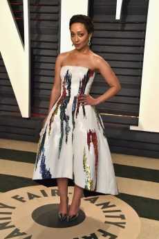 BEVERLY HILLS, CA - FEBRUARY 26: Actor Ruth Negga attends the 2017 Vanity Fair Oscar Party hosted by Graydon Carter at Wallis Annenberg Center for the Performing Arts on February 26, 2017 in Beverly Hills, California. (Photo by Pascal Le Segretain/Getty Images)