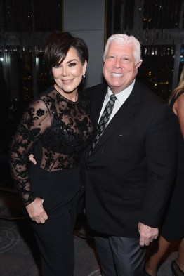 NEW YORK, NY - APRIL 19: Kris Jenner and Dennis Basso attend Harper's BAZAAR 150th Anniversary Event presented with Tiffany & Co at The Rainbow Room on April 19, 2017 in New York City. (Photo by Dimitrios Kambouris/Getty Images for Harper's BAZAAR)