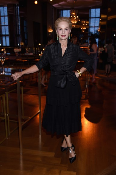 NEW YORK, NY - APRIL 19: Carolina Herrera attends Harper's BAZAAR 150th Anniversary Event presented with Tiffany & Co at The Rainbow Room on April 19, 2017 in New York City. (Photo by Dimitrios Kambouris/Getty Images for Harper's BAZAAR)