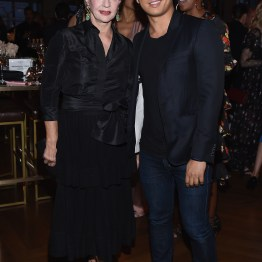 NEW YORK, NY - APRIL 19: Carolina Herrera and Prabal Gurung attend Harper's BAZAAR 150th Anniversary Event presented with Tiffany & Co at The Rainbow Room on April 19, 2017 in New York City. (Photo by Dimitrios Kambouris/Getty Images for Harper's BAZAAR)