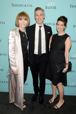 NEW YORK, NY - APRIL 19: Carol Smith, Michael Krans, and Kate Slavin attend Harper's BAZAAR 150th Anniversary Event presented with Tiffany & Co at The Rainbow Room on April 19, 2017 in New York City. (Photo by Andrew Toth/Getty Images for Harper's BAZAAR)