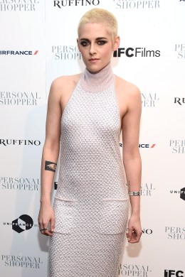 """NEW YORK, NY - MARCH 09: Actress Kristen Stewart attends the """"Personal Shopper"""" premiere at Metrograph on March 9, 2017 in New York City. (Photo by Dimitrios Kambouris/Getty Images)"""