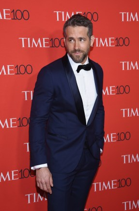 NEW YORK, NY - APRIL 25: Actor Ryan Reynolds attends the 2017 Time 100 Gala at Jazz at Lincoln Center on April 25, 2017 in New York City. (Photo by Dimitrios Kambouris/Getty Images for TIME)
