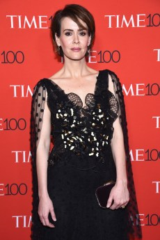 NEW YORK, NY - APRIL 25: Actress Sarah Paulson attends the 2017 Time 100 Gala at Jazz at Lincoln Center on April 25, 2017 in New York City. (Photo by Dimitrios Kambouris/Getty Images for TIME)
