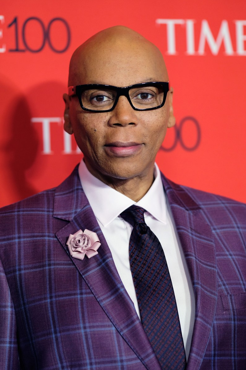 NEW YORK, NY - APRIL 25: L 25: RuPaul attends the 2017 Time 100 Gala at Jazz at Lincoln Center on April 25, 2017 in New York City. (Photo by Dimitrios Kambouris/Getty Images for TIME)