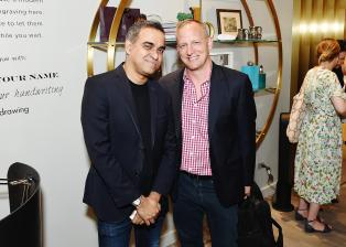 NEW YORK, NY - JUNE 15: Bibhi Mohapatra and Jim Deyonker attends the Monica Vinader x GLAM4GOOD Get Your Glam On Party on June 15, 2017 in New York City. (Photo by Nicholas Hunt/Getty Images)