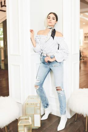 Off Shoulder Blouse2