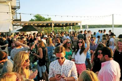 Atmosphere== The Daily Summer Surf Party== The Surf Lodge, Montauk== July 11, 2015== ©Patrick McMullan== Photo - Owen Hoffmann/PatrickMcMullan.com== ==