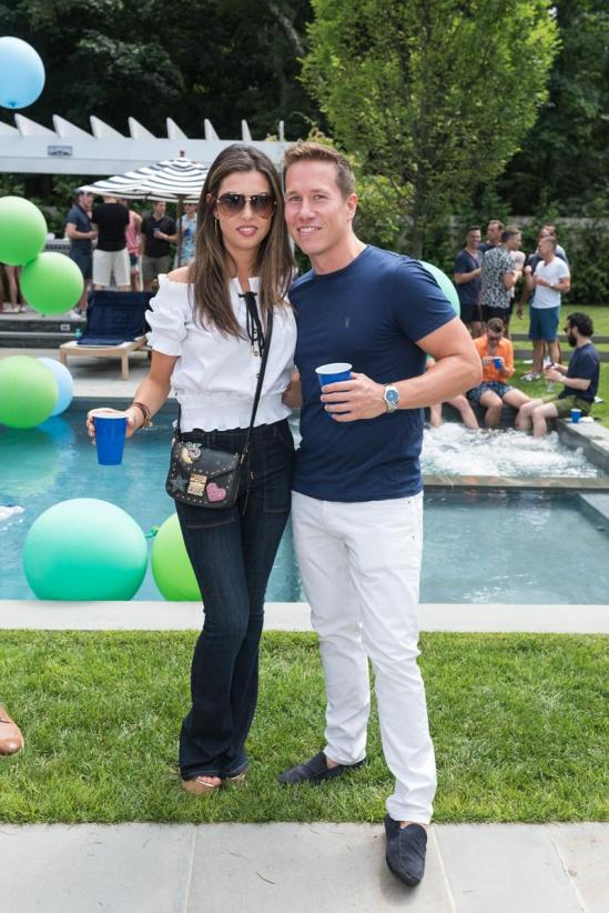 SAG HARBOR, NY - JULY 15: Rita Shuckman and Peter Davis attend The Daily Summer's 3rd annual Boys of Summer Party on July 15, 2017 in Sag Harbor, New York. (Photo by Presley Ann/Patrick McMullan via Getty Images)