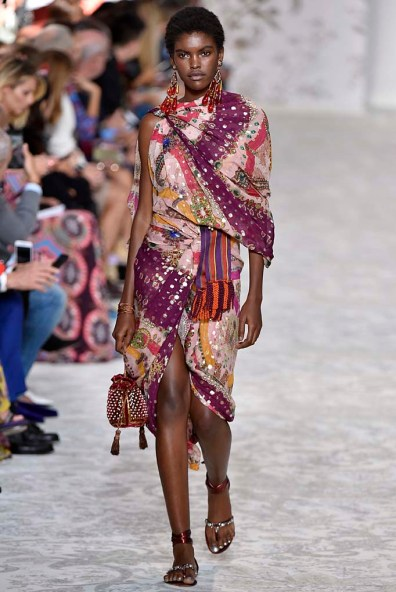 Etro Milan Fashion Week Spring Summer 2018 Milan September 2017