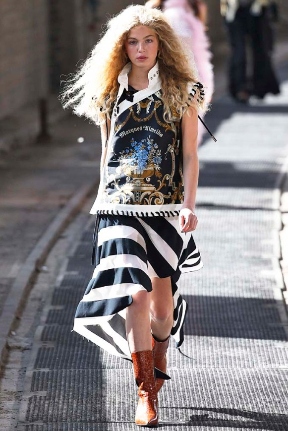 Marques Almeida London Fashion Week Spring Summer 2018 London September 2017