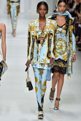 Versace Milan Fashion Week Spring Summer 2018 Milan September 2017