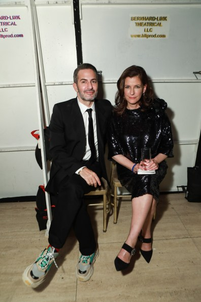 Marc Jacobs, Bridget Foley== Fashion Group International 34th Annual Night of Stars Gala== Cipriani Wall Street, NYC== October 26, 2017== ©Patrick McMullan== Photo - Gonzalo Marroquin/PMC== ==