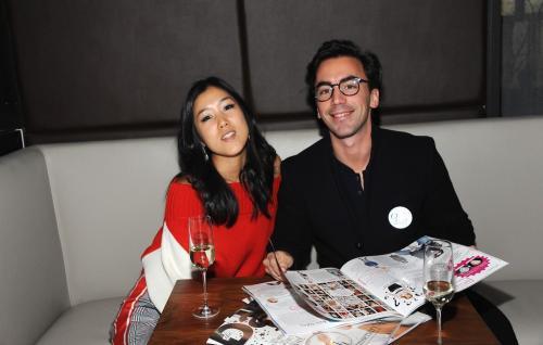 Laura Kim and Fernando Garcia of Oscar de la Renta (Getty Images)
