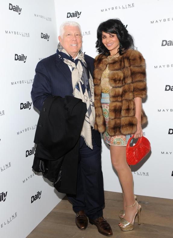 Dennis Basso and Rena Kirdar Sindi (Getty Images)