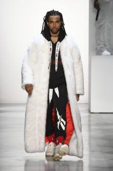 Pyer Moss fall 2018 (Getty Images)