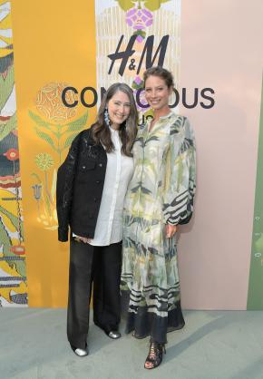 H&M's Ann-Sofie Johansson and Christy Turlington Burns