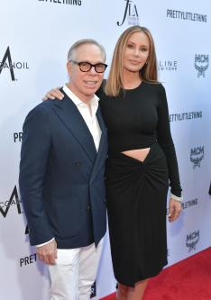 Tommy Hilfiger and Dee Ocleppo (Getty Images)