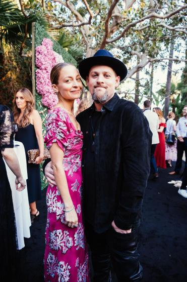 Nicole Richie and Joel Madden (Hannah Turner-Harts)