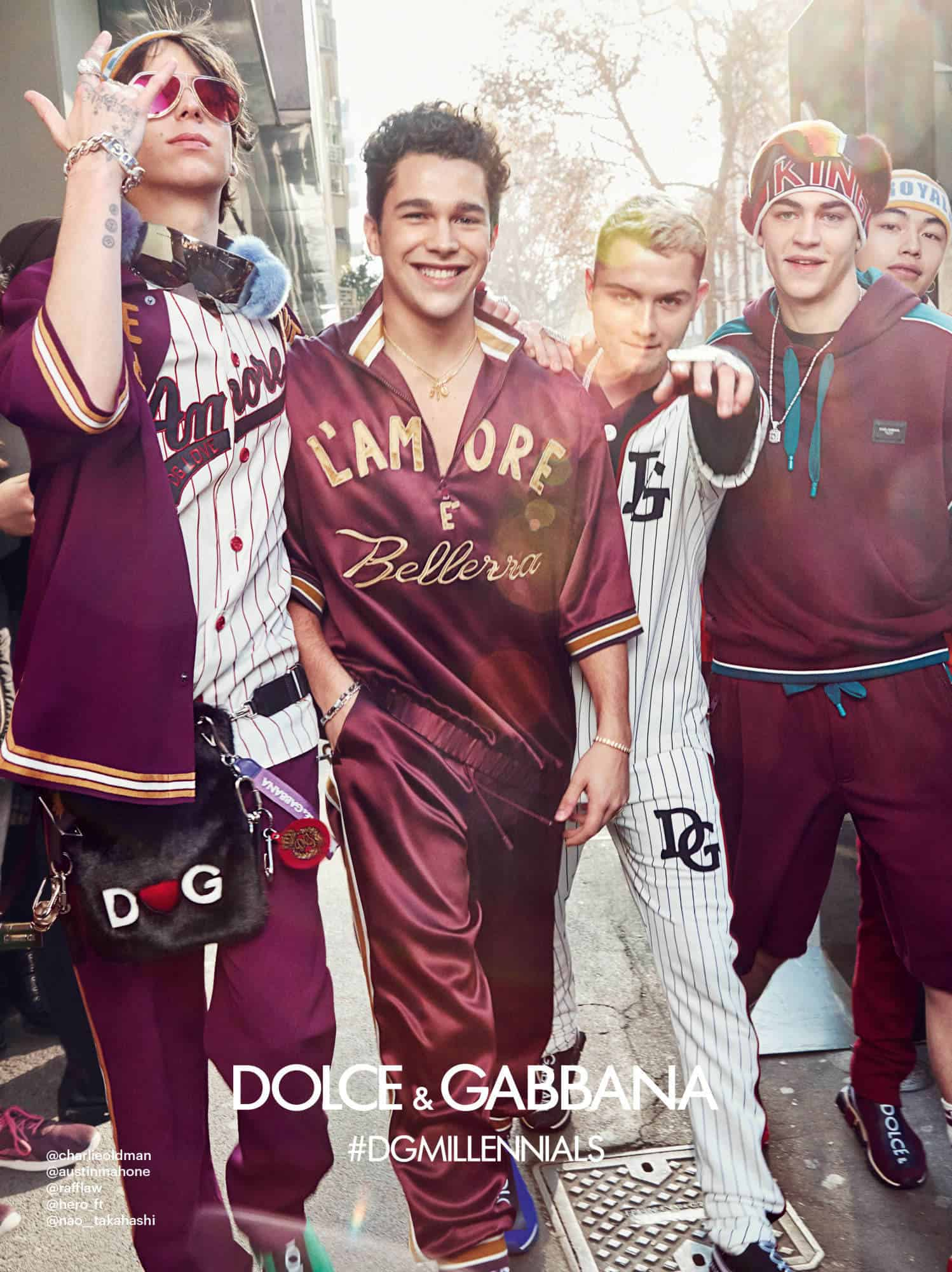 Dolce  Gabbanas New Campaign is Bursting at the Seams