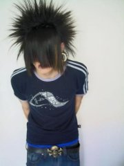 emo haircut and hair styles