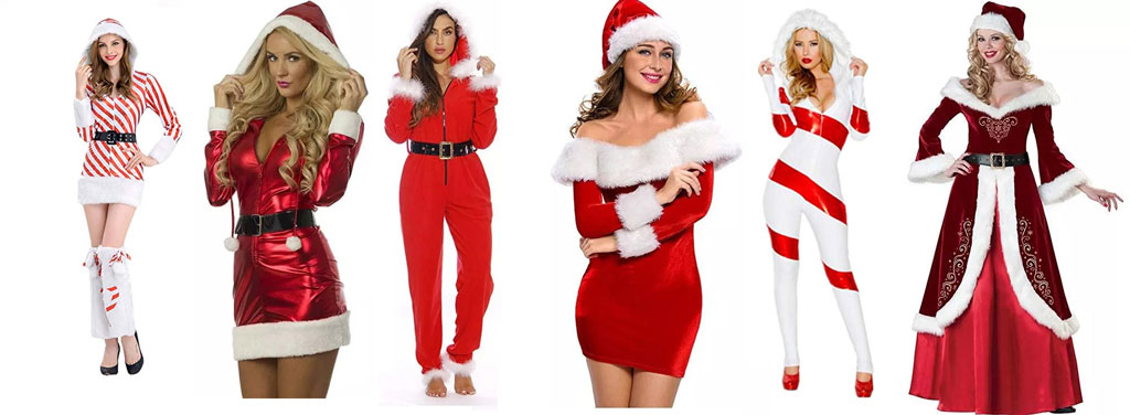 Wundervoll Christmas Santa Claus Costumes For Women