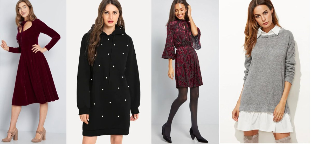 Trending Winter Dresses For College Girls