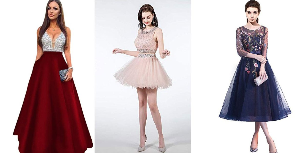 Prom Dresses For Women With A Slender Body