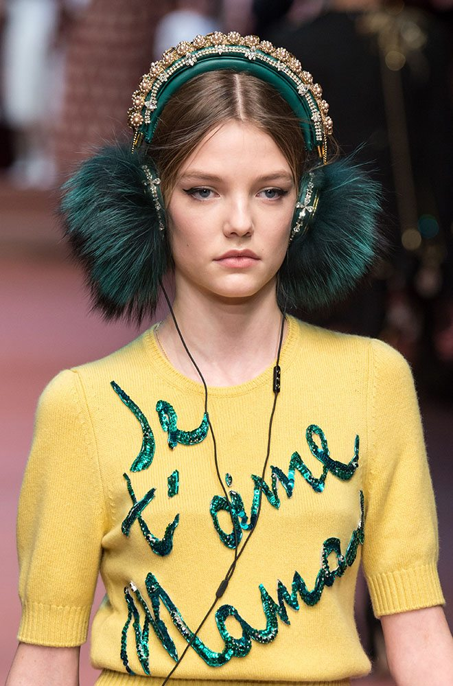 Dolce Gabbana, Milan women fashion week, winter 2015 2016