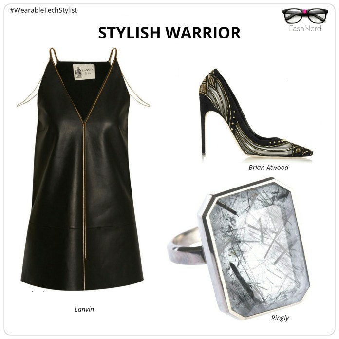 Styling Ringly Jewelry