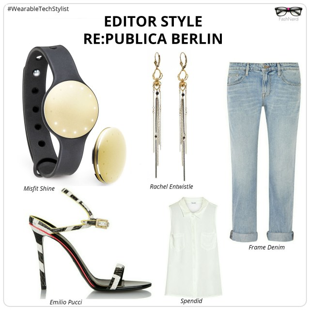 Styling misfit shine gold