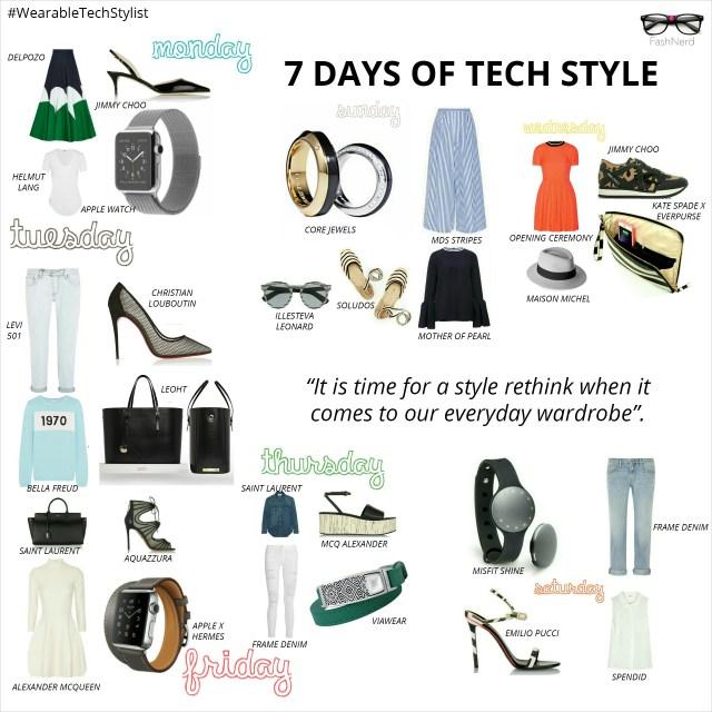 FashNerd- 7 Days of Style Tech