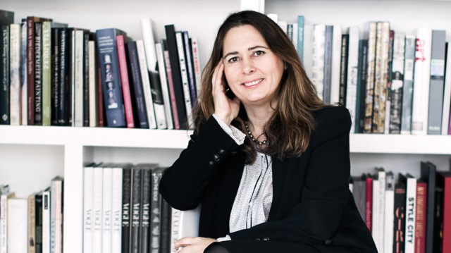 Alexandra Shulman OBE, Editor of British Vogue and Chair of the Fund Committee