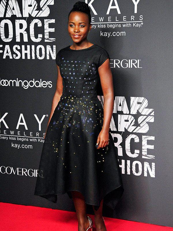 Lupita Nyongo in Zac Posen's Fashion Tech Creation