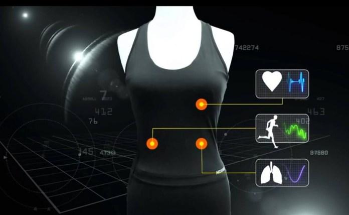 Hexoskin Biometric Smart Shirt