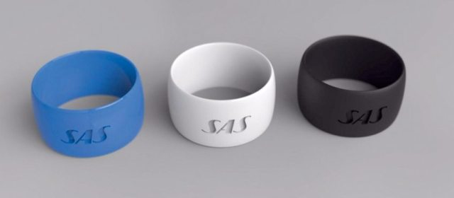 The innovative rings from SAS could be used to board a plane.