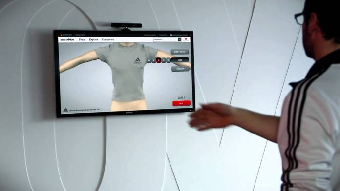 Adidas Body Scanners