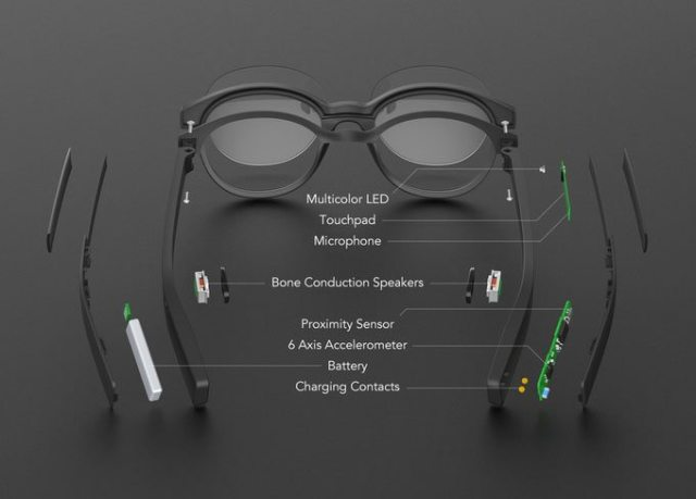 An inside look into Vue smart glasses