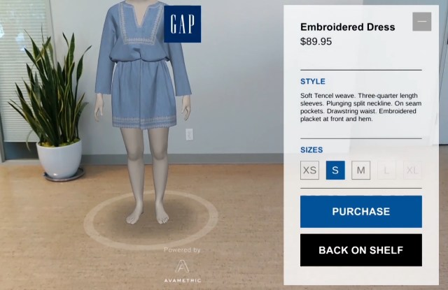 Augmented Reality Fashion