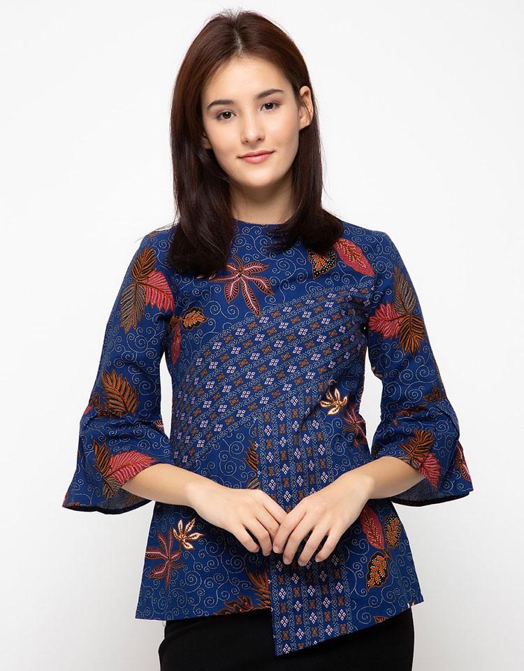 model baju batik kantor santai