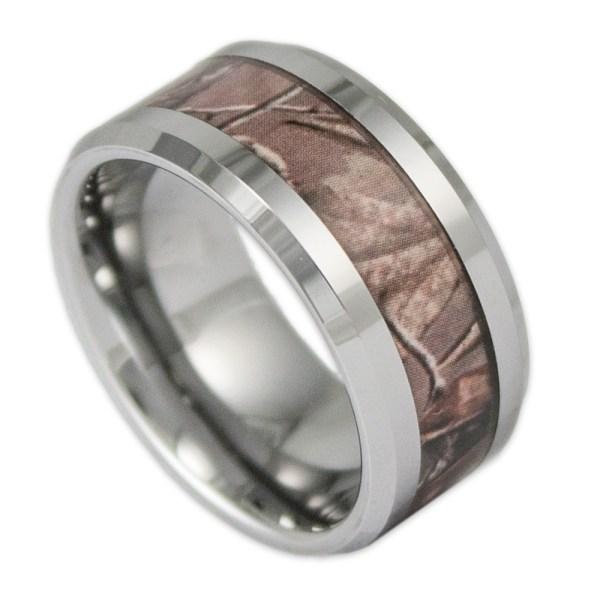 Of Mens 10mm Tungsten Wedding Bands