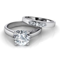 2018 Popular Diamond Solitaire Wedding Rings