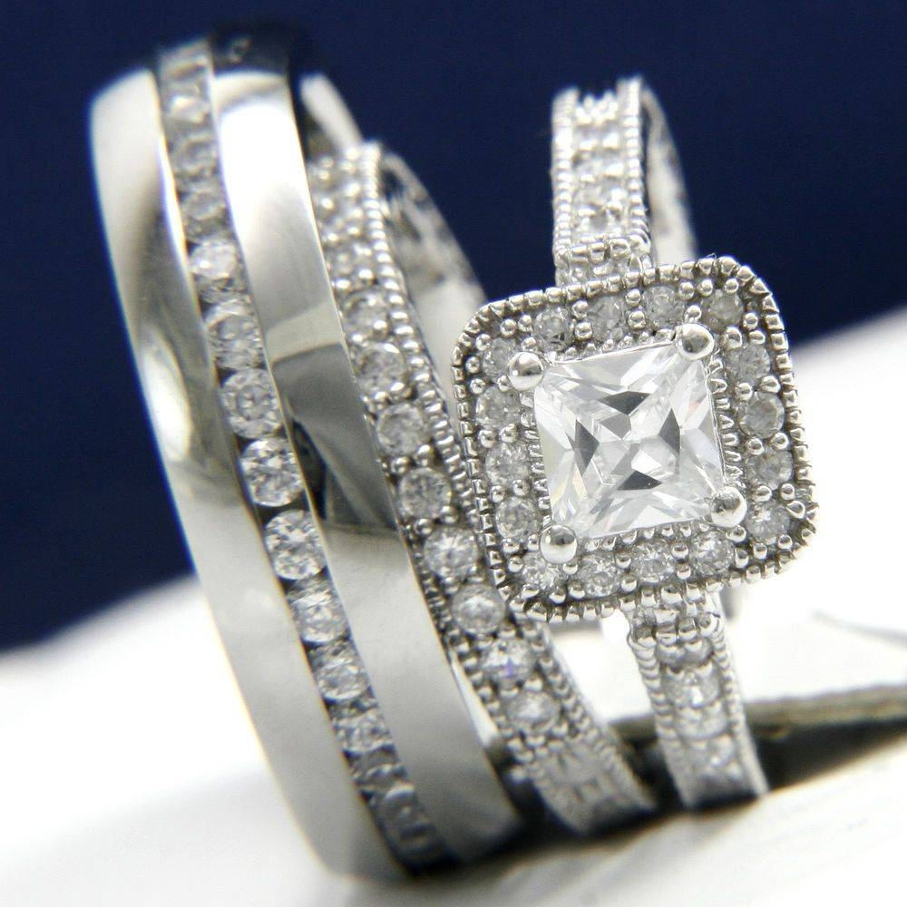 Men And Women Wedding Ring Sets