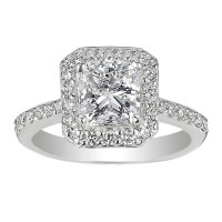 15 Best Collection of Square Wedding Rings For Women