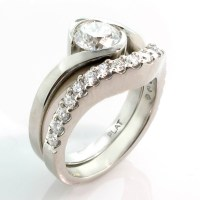 2018 Popular Custom Design Wedding Rings